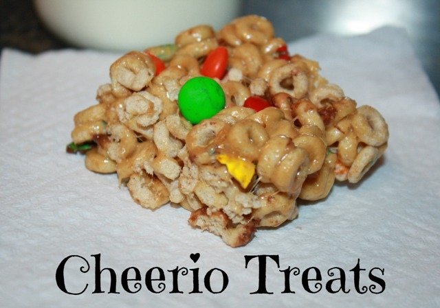 cheerio treats