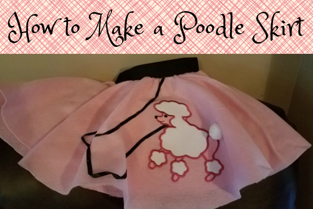 How To Make A Poodle Skirt Character Concepts Blog