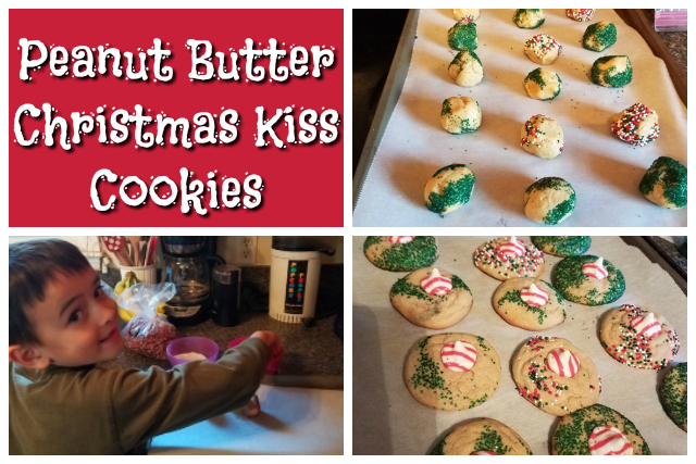 Peanut Butter Christmas Kiss Cookies Character Concepts Blog