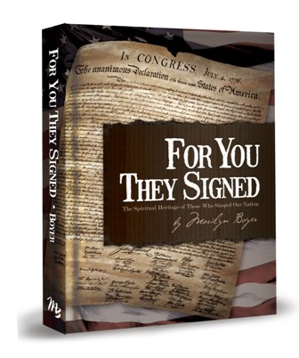 For You THey Signed Book By Marilyn Boyer
