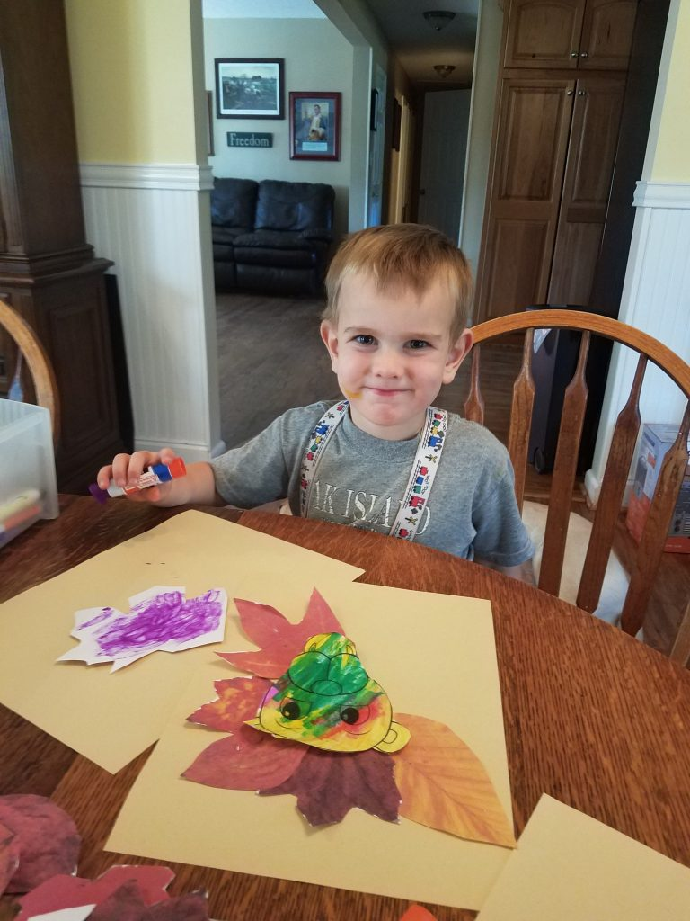 Art project for fall activity