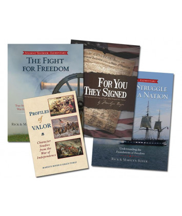 American History for Homeschoolers Book Set